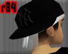 [r84] BwBlk Yankee Cap 1