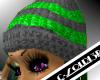 [LF] G+Green Wolly Hat