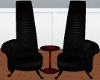 SG Double Black Chairs