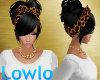 L| Cheetah Bow Hair