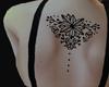 Back Tattoo wedding orna