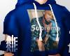 supreme hoodie blue