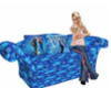 Anna and Elsa Couch