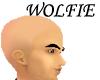 Shaven head