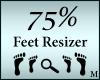 Foot Shoe Scaler 75%
