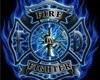 Blue Firefighter Chair
