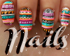 Giin ~ Aztec Nails