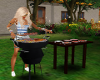 BBQ Animated  Grill