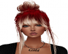 (wiz) anthea red ombre