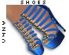 V4NY|Rope Shoes Blue