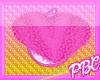 *PBC* Fuzzy Heart Rug