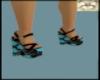 blue daisy shoes