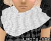 [LB] white scarf