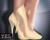 [Yel] Yellow heels Sh