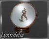 ~L~Football Plate Trophy