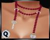 Pearls Pink Lock & Key