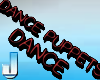 3D DANCE PUPPETS red