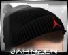 J* Jordan Beanie Black