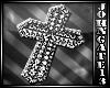 Silver Cross Sticker