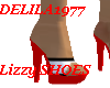 Lizzy Shoes-Red/White