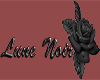 Lune Noir Rose