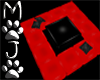 (MOJO) Red/Black Square
