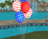 """4TH July Balloons """""""