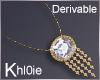 K derv bling Necklace