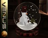 ~V~Snowman Snow Globe