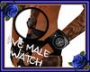 PVC Male watch