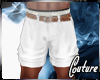(A) Dressy Shorts White