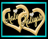 Aaliyah heart hoops