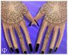 Æ SAC Hand Tat w/ Nails