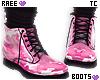 ® Tc.Pink Camo Boots