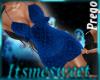 Mia Prego Dress - Blue