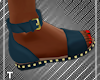 Babe Blue Sandals