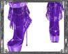Wicked Purple FringeBoot