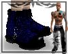 {E} Blue Gator Boots