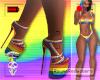 [r] PRIDE Strap Heels
