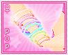 . kawaii rainbow bands