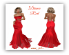 Diana Red Gown