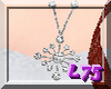 Slver/Dia Star Necklace