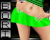 BOOTIE MINI SKIRT~GREEN2