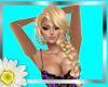 Sexy Blonde Side braid