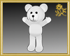 Outline White Teddy
