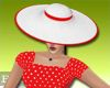 BLOS Red Vintage Hat
