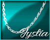 𝓙SterlingSilver Chain