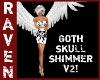 GOTH SKULL SHIMMER V2!