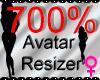 *M* Avatar Scaler 700%
