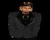king's gray suit coat